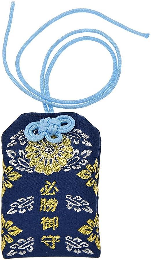 Hongma 1pc Amulette Japonaise Porte-Bonheur Omamori Accessoire Chance Sant/é S/écurit/é De La Circulation/…