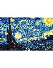 Kalia Wall Art The Starry Night By Vincent Van Gogh Canvas -39 x 50 CM