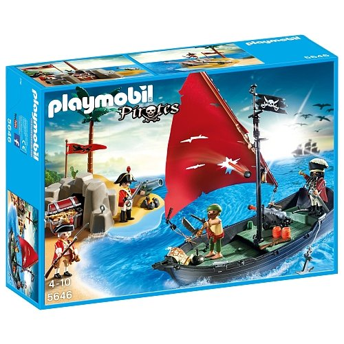 Playmobil 5646 Pirate Club Set - Limited Edition: Amazon.co.uk: Toys & Games