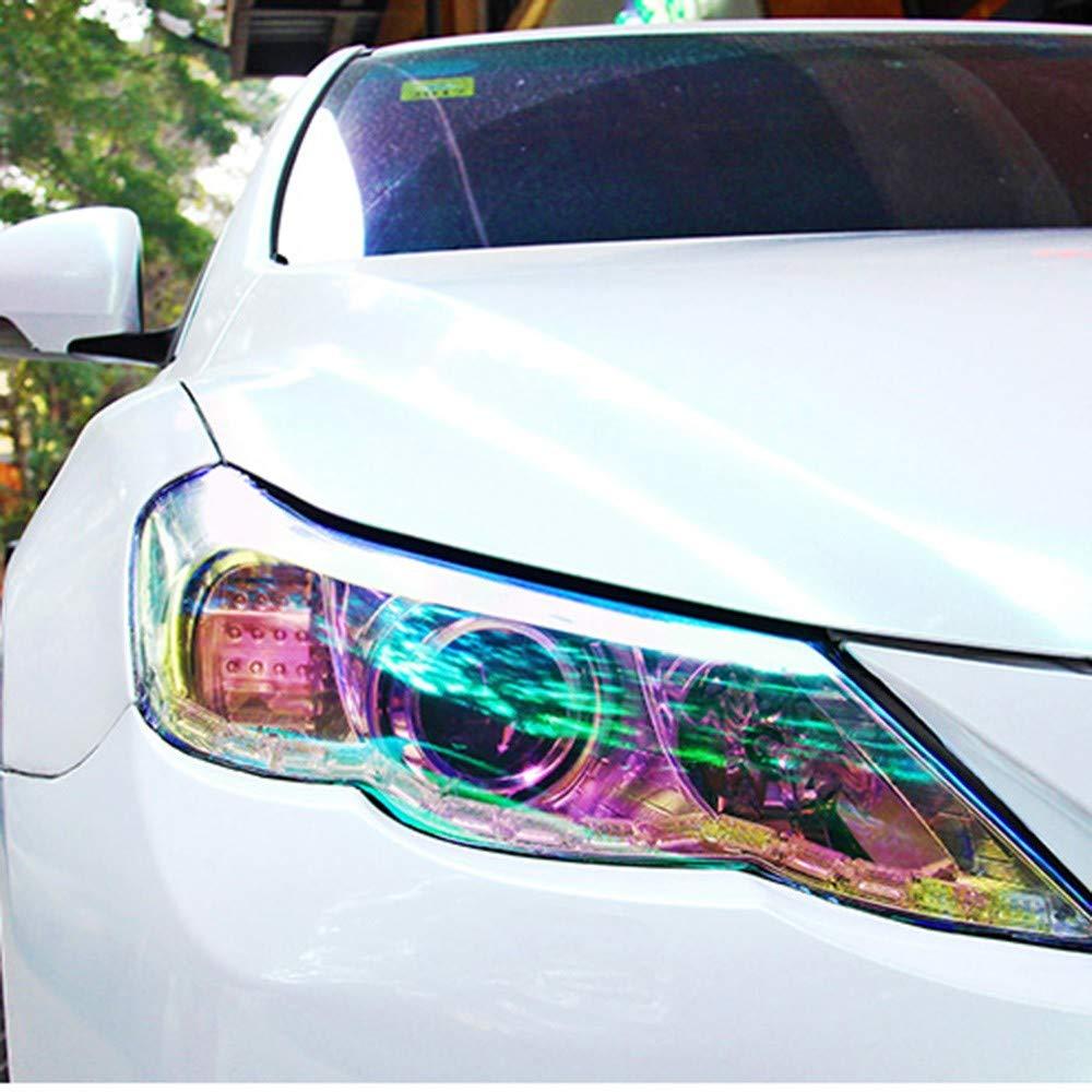 Amazon.com: MSOO Car Styling Chameleon Headlight Taillight ...