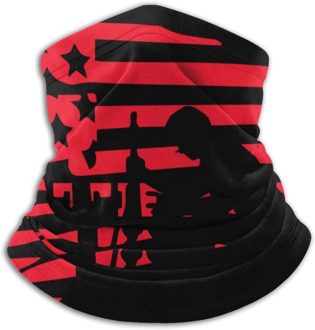 Yuanmeiju Mascarilla de protección multifuncional Pañuelo de soldado veterano estadounidense Pañuelo de microfibra Calentador de cuello Bufanda deportiva