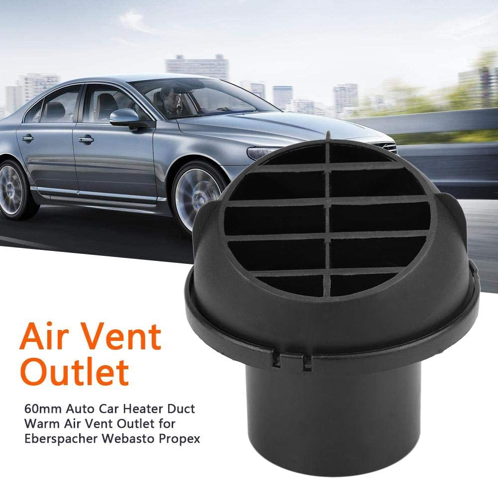 Sortie dair chaud conduit de chauffage automatique de voiture de 60 mm Sortie dair chaud pour Eberspacher Webasto Propex