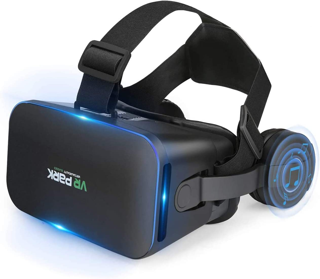 Virtual Reality Goggles for Kids & Adults - VR Headset Compatible with iPhone & Android (4.5 Inches to 6 Inches) - Adjustable Device Comfortable New 3D VR Glasses