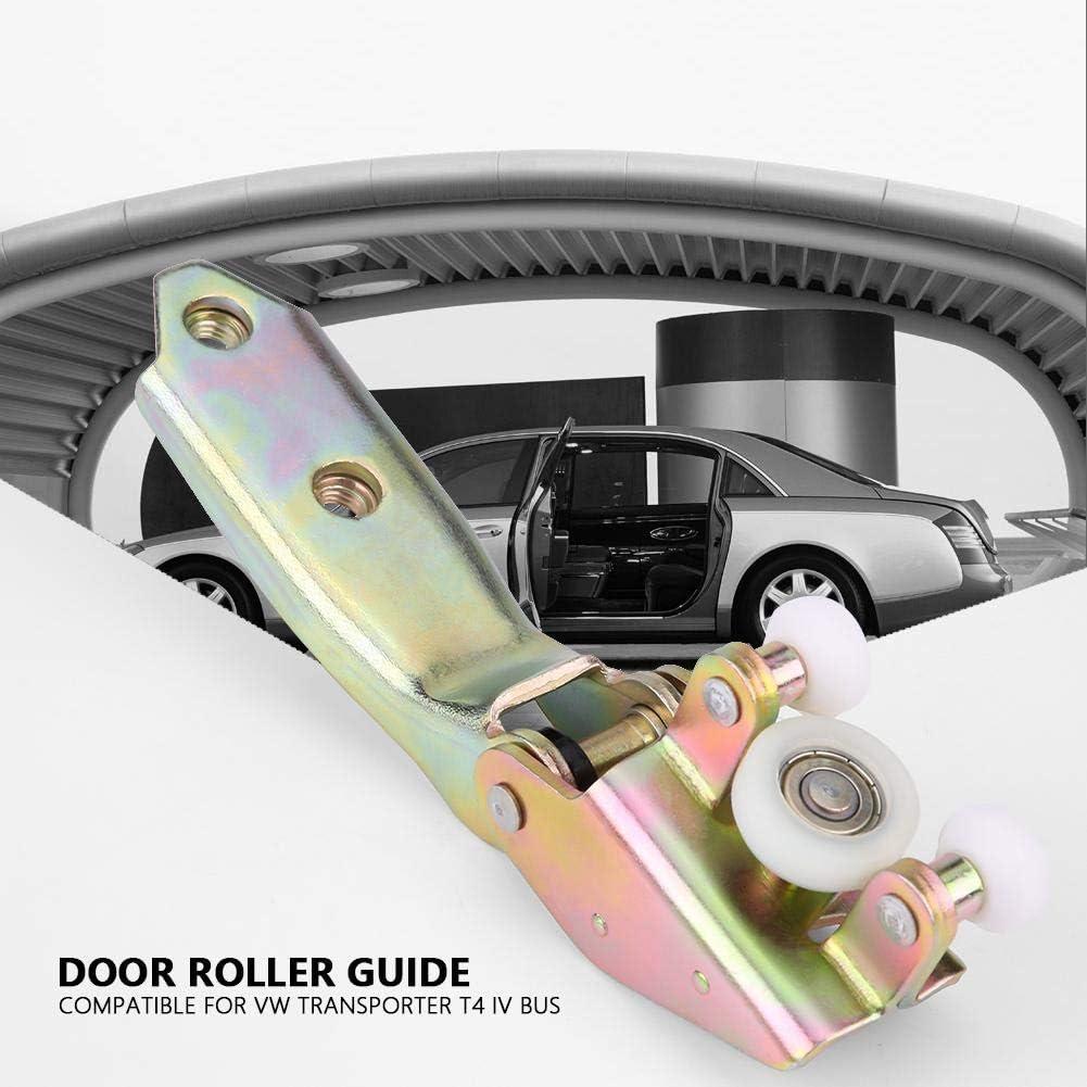 Guía para ruedas de puerta de coche, 3 piezas, guía de rodillos de la puerta corredera para Transporter T4 IV Bus, 701843406B 701843436 701843336: Amazon.es: Coche y moto