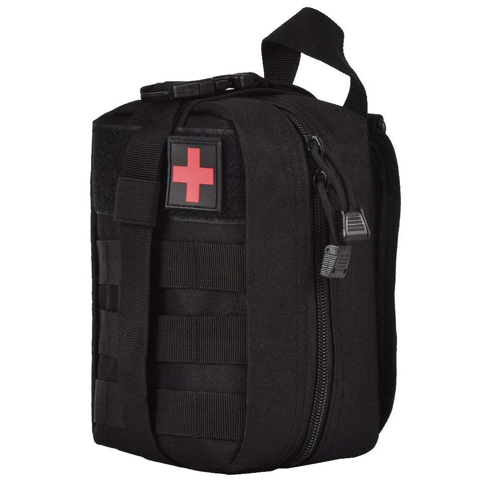 Tactical First Aid Kit Survival Molle Rip-Away EMT Medical Pouch Emergency Bag