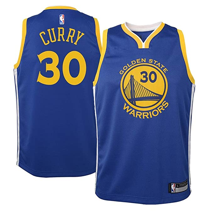 official photos 4f0d6 26deb Amazon.com: Youth Golden State Warriors #30 Stephen Curry ...