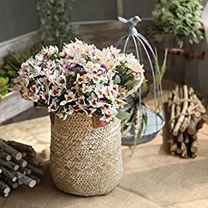 LySanSan - 25 Heads Chrysanthemum Artificial Flowers Daisy Artificial Flower Silk Gerbera Flower Wedding Home Decoration DIY Flowers 105
