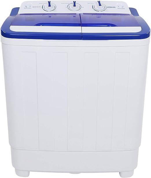 Amazon.com: ROVSUN - Lavadora portátil de 10 libras con ...