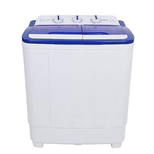 Amazon.com: RoVSUN - Lavadora portátil con doble bañera ...