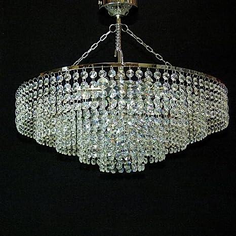 IT-PL-50 typeandcolor 50 cm, lámpara de cristal, luz de ...