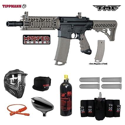 Amazon Com Tippmann Tmc Magfed Elite Co2 Paintball Gun Package