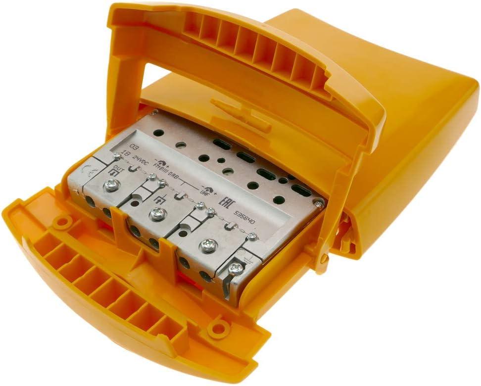 BeMatik - Amplificador de mástil de antena TV 1e 1s FM BIII ...