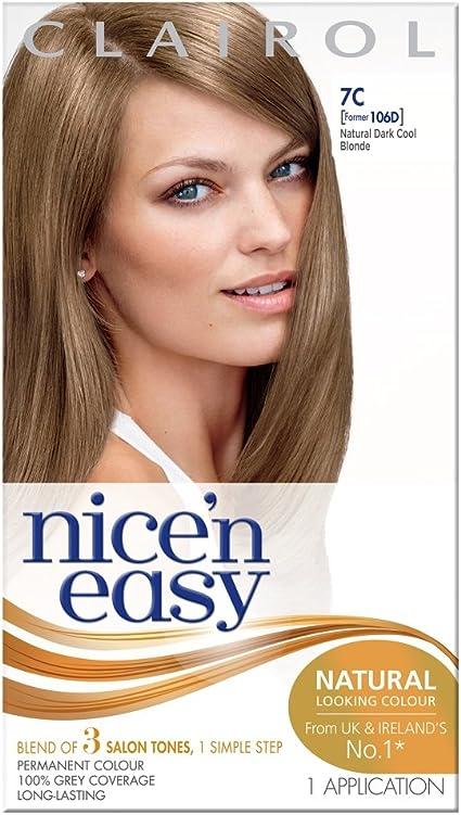 Tinte para el pelo Clairol Nice n Easy, permanente