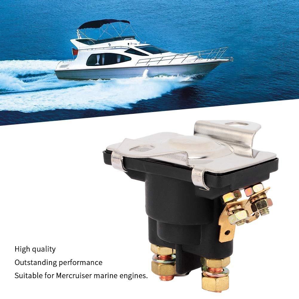 Aramox Marine Relay Solenoid 12V Marine Starter Relay Solenoid Tilt//Trim Relay Solenoid for Engines 89-96158T