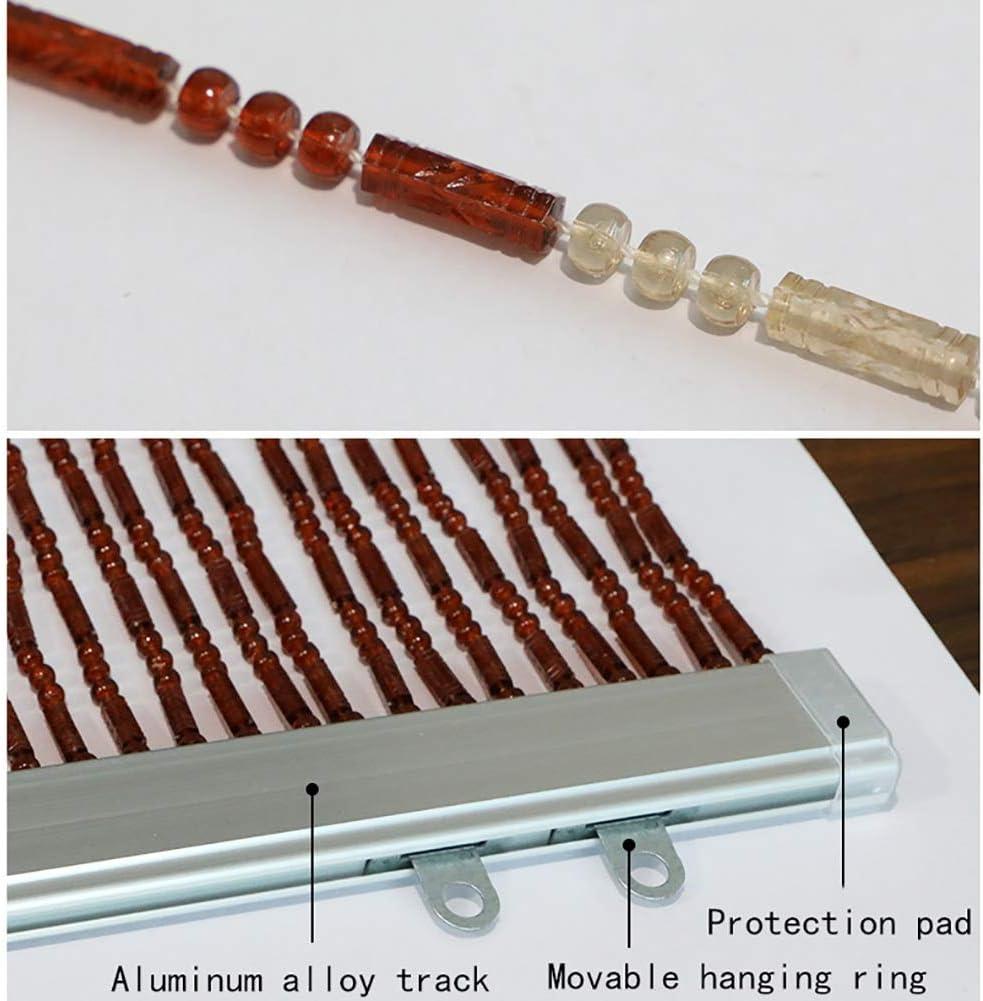 GuoWei-Cortinas de Cuentas Plástico Colgante Cuerdas Puerta ...
