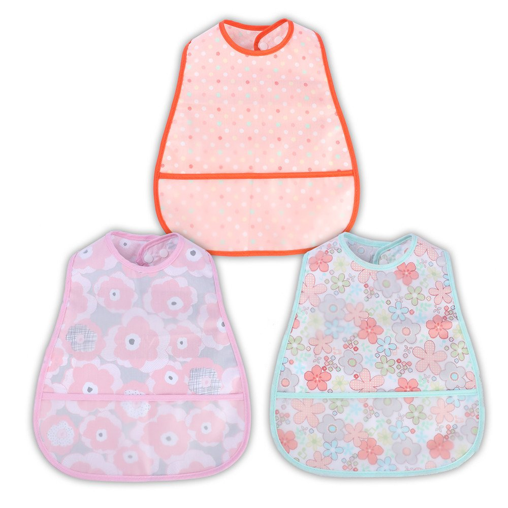 Car/&Bear/&Frog 6-24 Month NoriNori 4 Pcs Baby Bibs|Waterproof,Comfortable,Soft,Adjustable Snaps Feeding Bibs for Infants and Toddlers,Crumb Catcher Pocket,Easy to Clean,New Design for Boys,