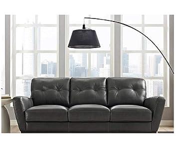 Amazon.com: Natuzzi Group Mills Leather Sofa: Kitchen & Dining