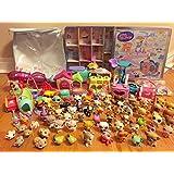 Hot Sale 2014 20pcs/lot Littlest Pet Shop Cute Loose Figures Random Child Girl Action Figures