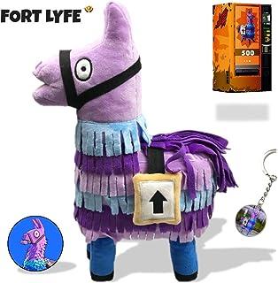 Fortnite Llama Loot Plush Figure - Rainbow Loot Llama Toys