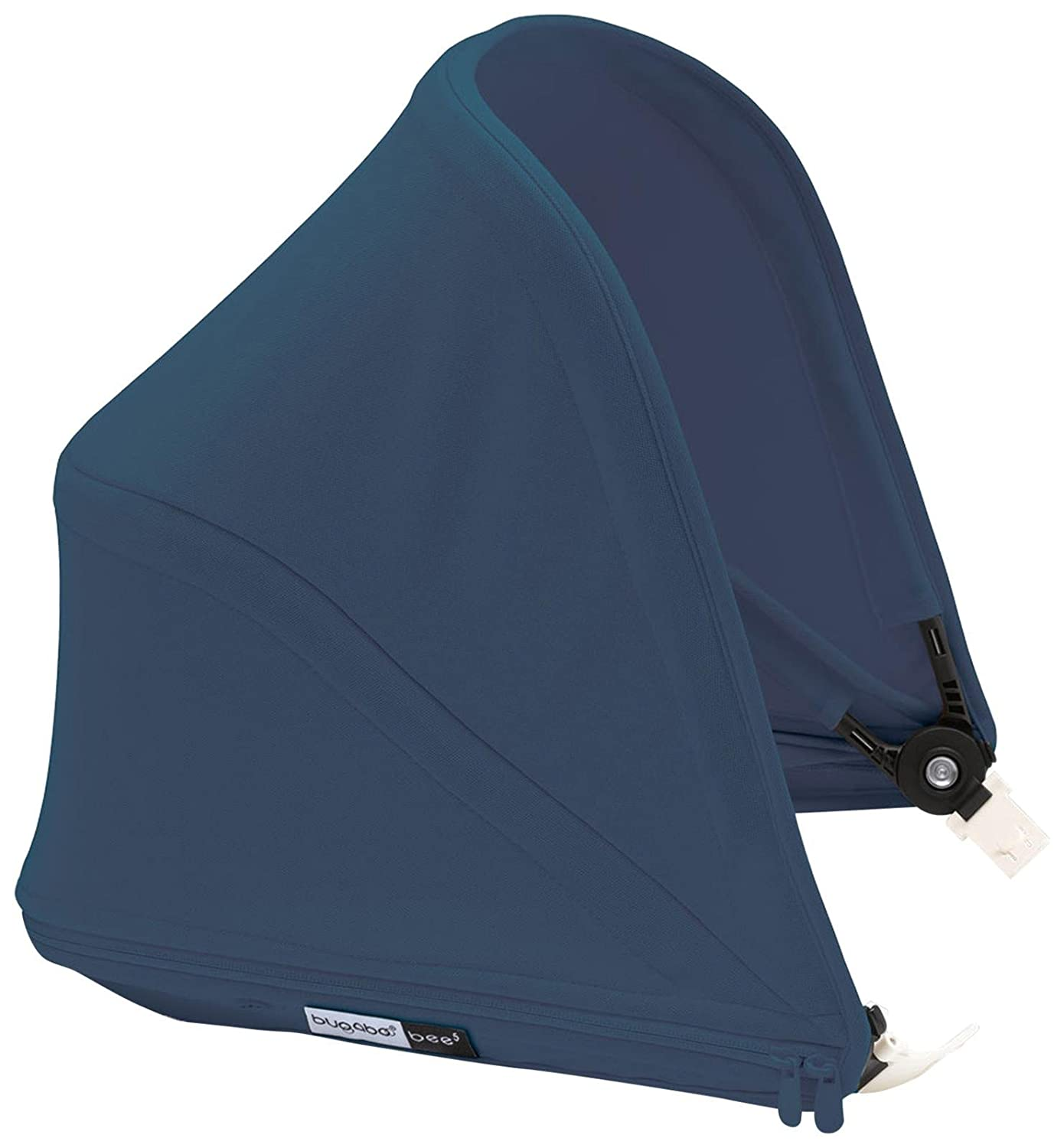 Bugaboo Bee5 Sun Canopy, Blue Mélange - Extendable Sun Shade for Full Weather Protection, Machine Washable 500227BM01