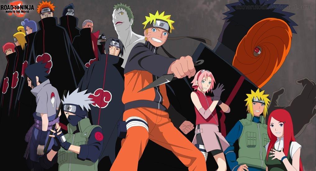 Road to Ninja Naruto the Movie (65x35 cm \ 26x14 inch ...