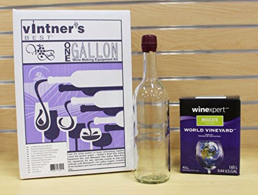 Winexpert One Gallon Wine Equipment Kit and Ingredient Kit