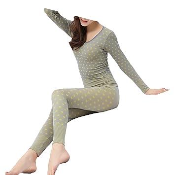Otoño E Invierno Sección Delgada Femenino Tee Retroceso Ropa Interior,Gray