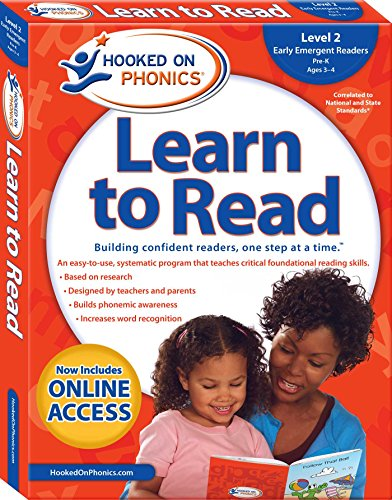 Hooked on Phonics Learn to Read - Level 2: Early Emergent Readers (Pre-K | Ages 3-4) (2) (Hooked On Phonics Readers)