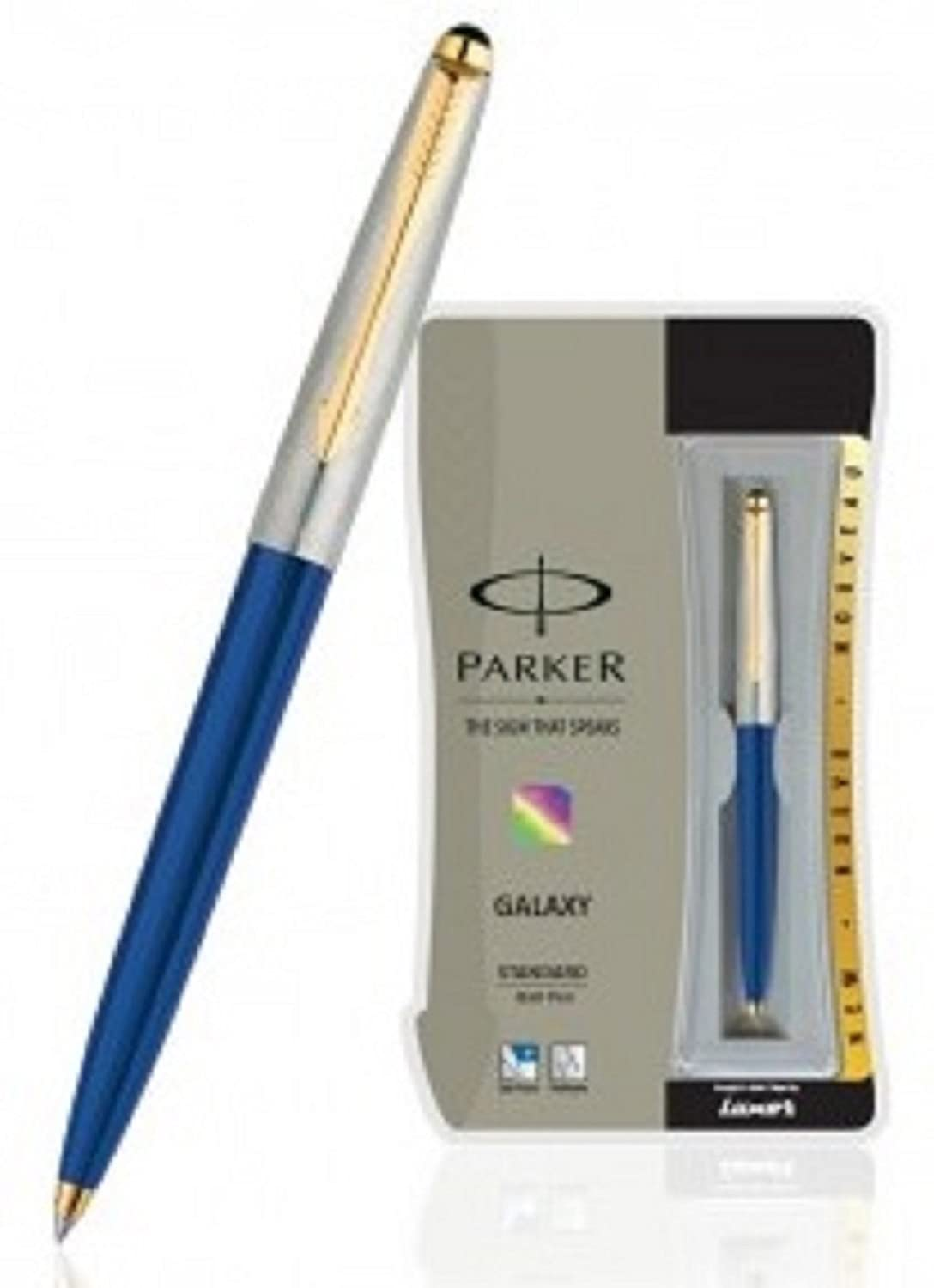 Parker Jotter//Galaxy//Classic Ball Pen Blue//Black Ink Fine//Medium Point New