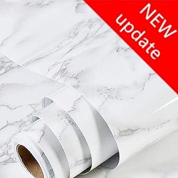 Amazon.com: Vinilo impermeable grueso papel de contacto de ...