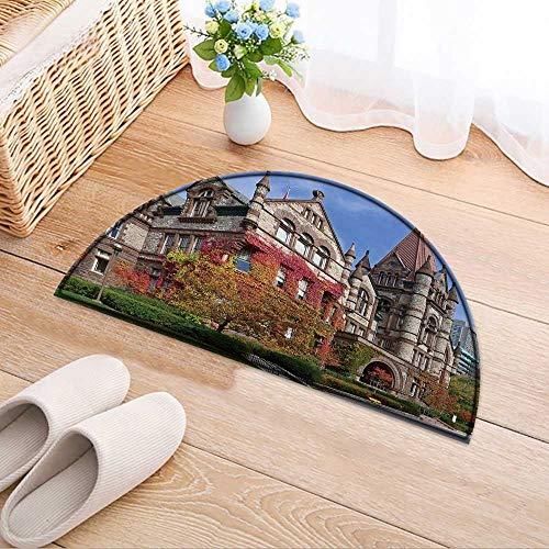(Carpet Floor mat Bath mat Door mat University of Toronto Victoria College fivy Water-Absorbing Floor mat Anti-Slip mat W24 x H16 INCH)