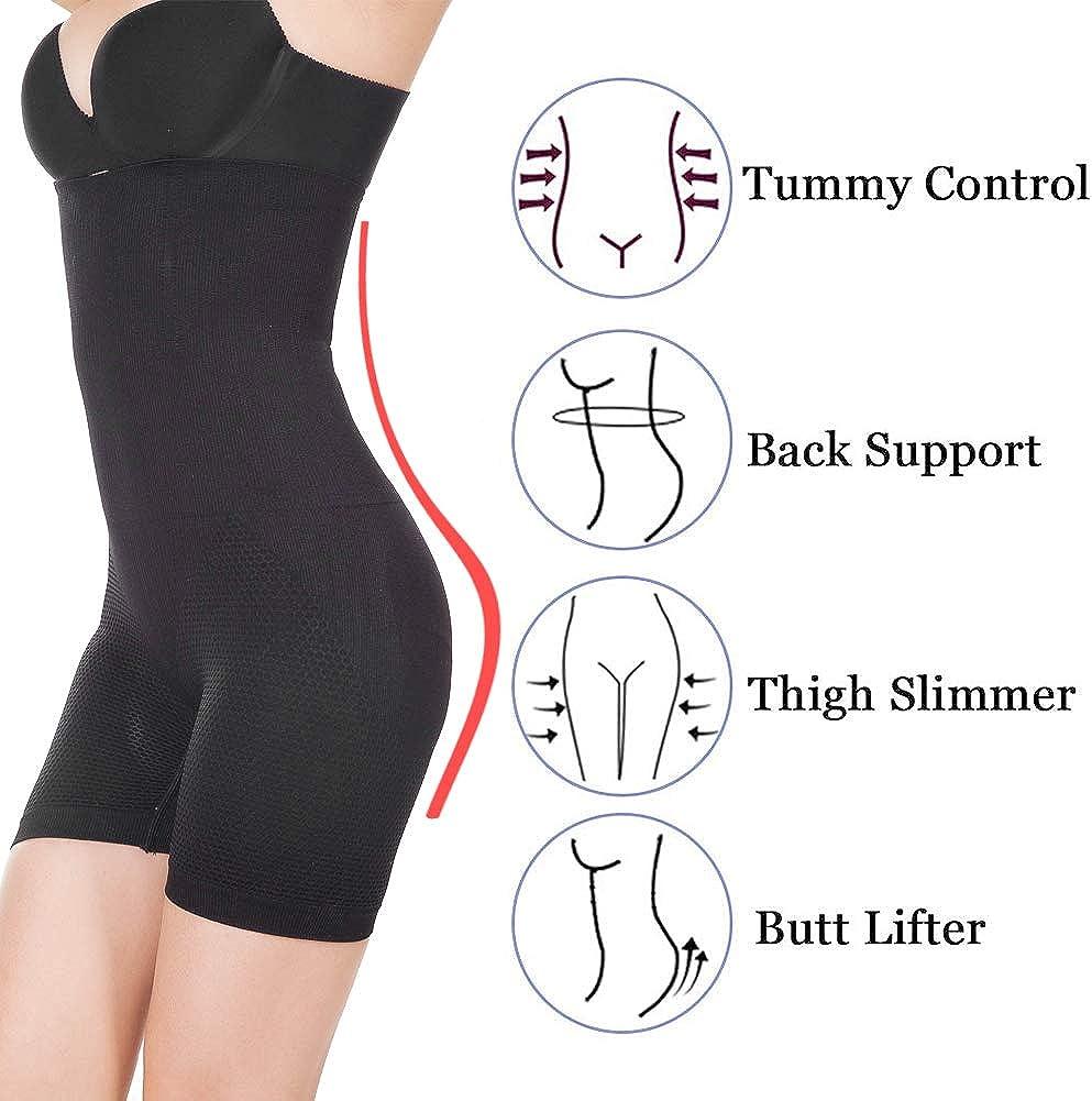 Women waist trainer shapewear tummy control body shaper shorts high waist butt lifter seamless thigh slimmer