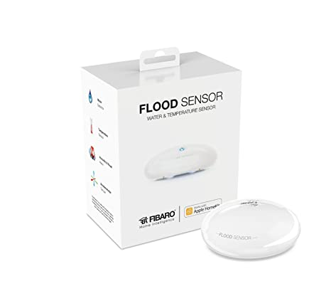Detector de inundación - Inalámbrico / Bluetooth - Compatible con Apple HomeKit - Antena interna -