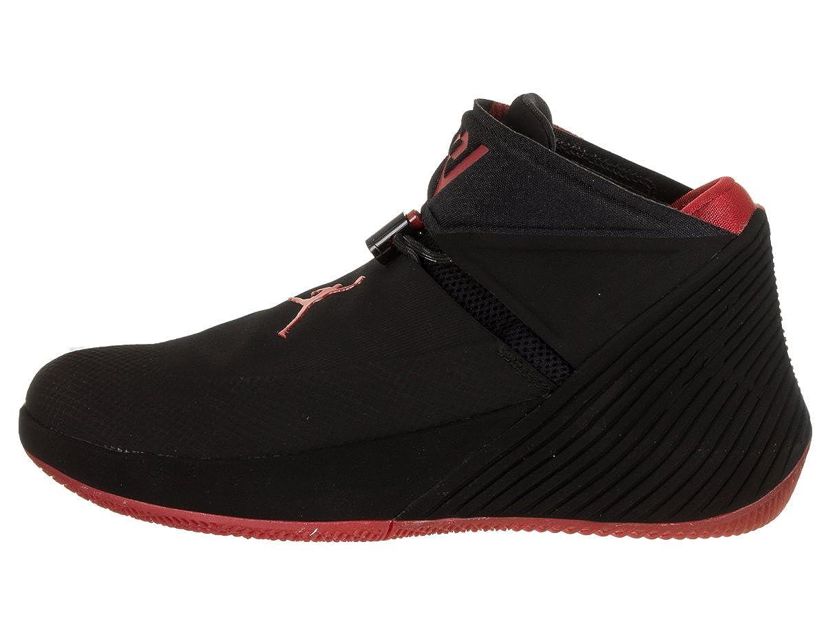 quality design bdc79 182c2 Amazon.com   Jordan Nike Men s Why Not Zer0.1 Black Gym Red Basketball Shoe  10.5 Men US   Basketball