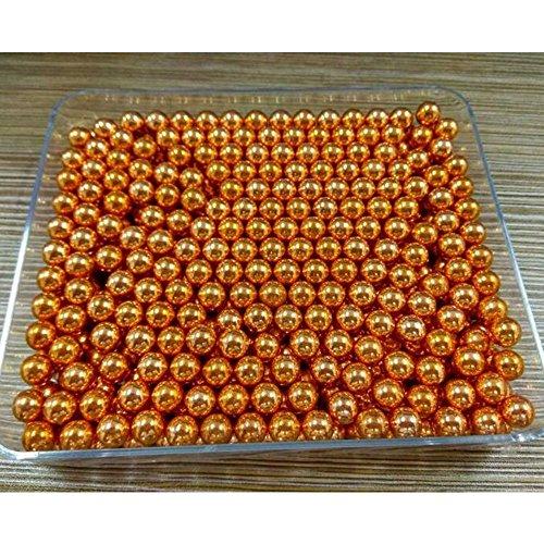 Toparchery 100個 練習 弾 球  スリングショット 8mm 金色