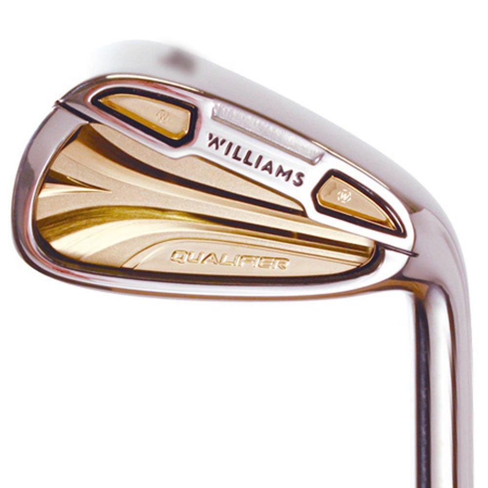 WilliamsゴルフQualifierゴールドシリーズアイアンセット2016右5-pw Fujikura WSFグラファイトStiff Regular B01M5EDEBD