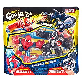 Heroes of Goo Jit Zu Licensed Marvel Versus Pack - Spider-Man vs Venom