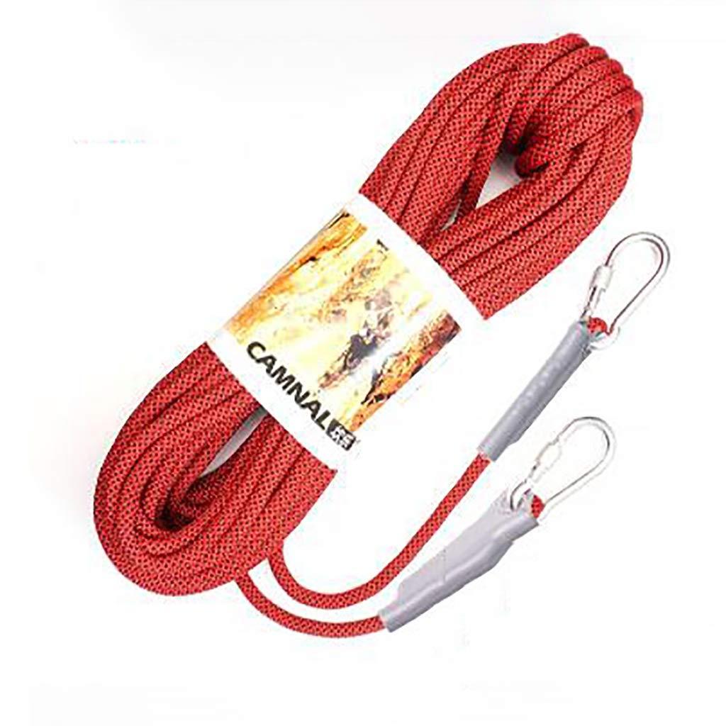 A YYHSND Corde de Levage Corde de Camping Escalade Escalade Conduite sur Route plongée Couleur résistant à l'usure Taille en Option Corde d'alpinisme (Couleur   B, Taille   8mm 40m) 8mm 100m