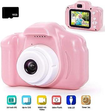 Amazon.com: Worglo Cámara digital para niños 1080P HD cámara ...