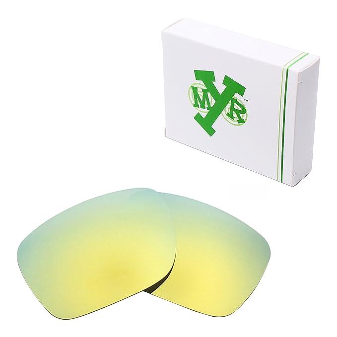 17d49cf75096c Lentes de repuesto MRY polarizadas para gafas de sol Oakley Holbrook LX  Multicolor 24K Gold  Amazon.es  Ropa y accesorios