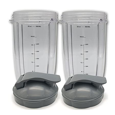 Taza de repuesto 32 oz taza de altura con tapa superior para listo ...