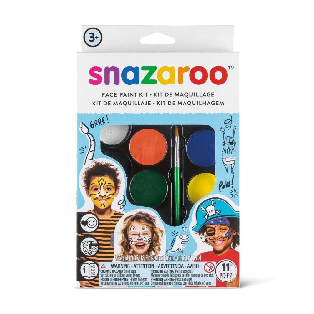 Snazaroo 1172070 Face Paint Palette Kit - Halloween