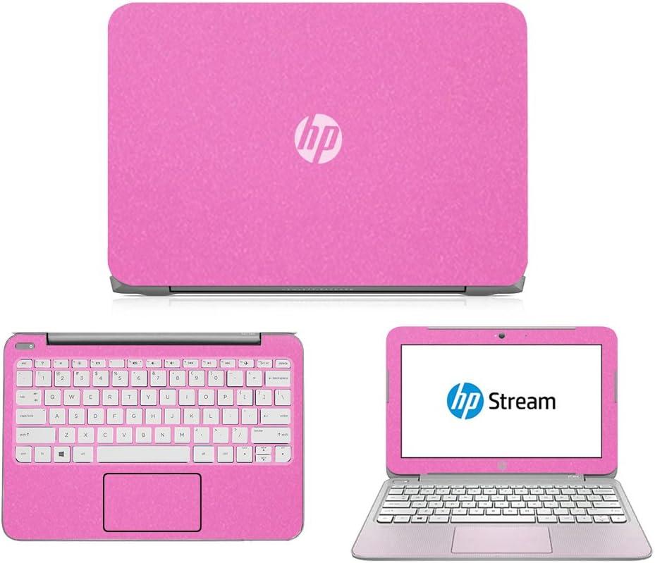 "Sparkling Pink Skin Decal wrap Skin case for HP Stream 11 11.6"" Laptop"