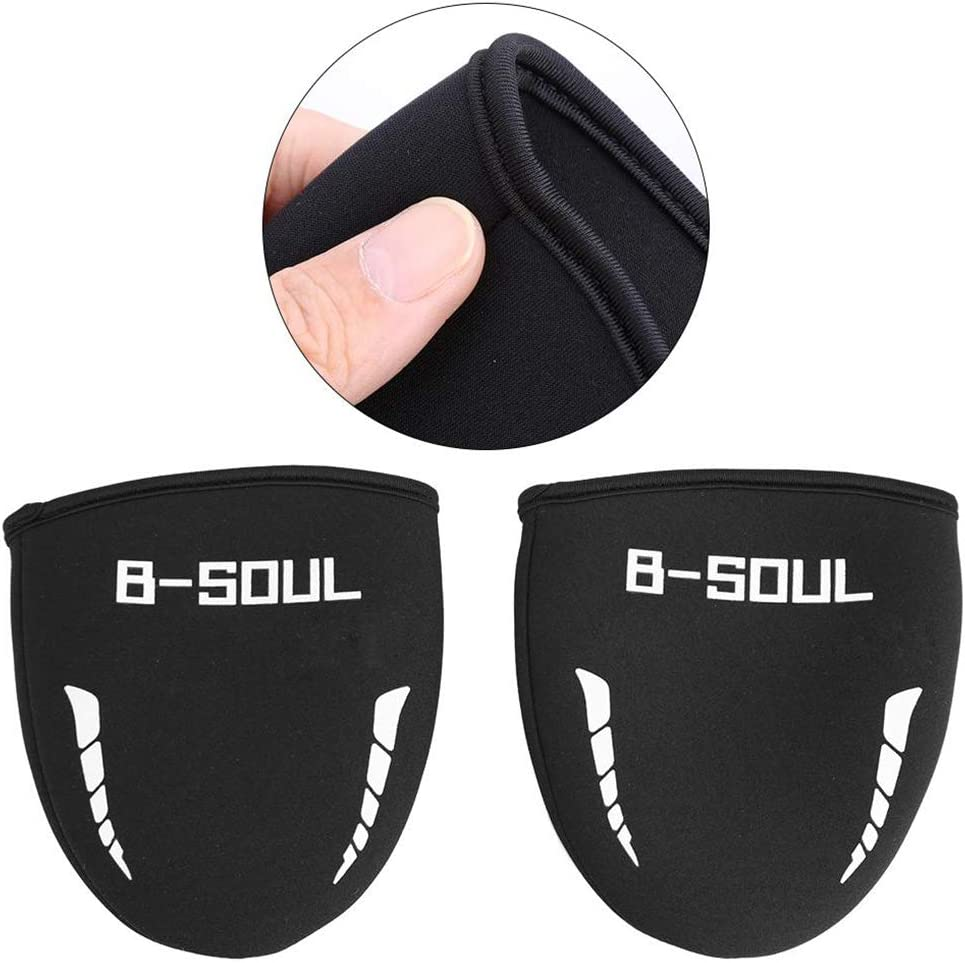 Fengyuanhong 1 Pair Sport Shoe Cover Waterproof Bicycle Overshoes Road MTB Bike Road Cycling Shoes Toe Cover Warm Protector