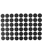 uxcell® Home Table Self-Adhesive Screw Hole Covers Caps Stickers 54 in 1 Black