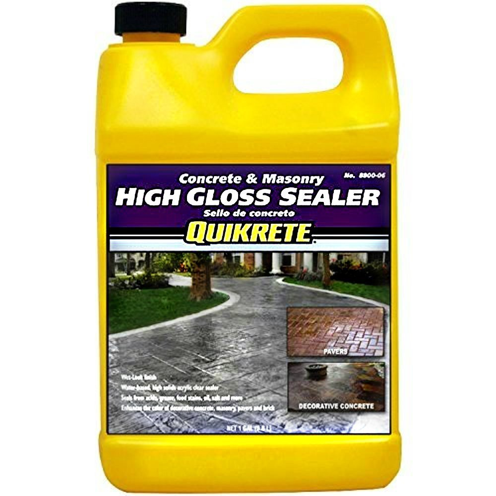 Quikrete Concrete and Masonry High Gloss Sealer