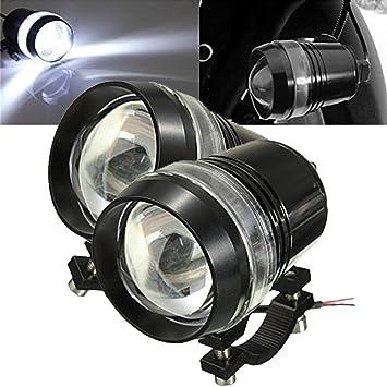 Tuincyn Lumens Lumière U3 1200 Universel Phare 6000k Led Running De Moteur Projecteur Moto Lampe Ampoule Blanc Travail xBdCoreW