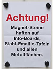 TimeTEX Magnetische Steine, ca. 275 g, ca. 20 Stück