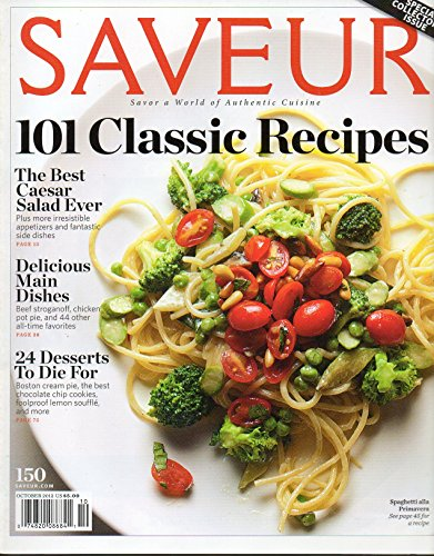 Saveur Magazine October 2012 Special Collector's Issue