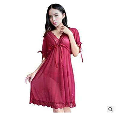 3696648ee7 Dormery Shirt Sleep Nightgowns Sleepwear Nightdress Women s Sexy Sleepwear  Sexy Women s Nightgown Women Sleep Wear Sets